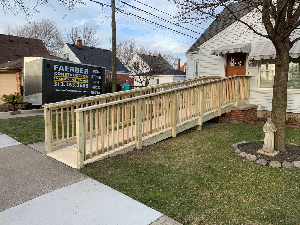 home renovation, faerber construction, canton michigan